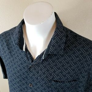 NAT NAST Geometric Shirt Size Large